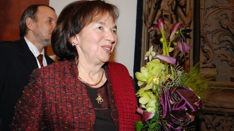 Livia Klausová v roce 2008