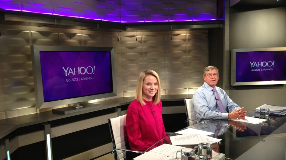 Marissa Mayerová je podle studie jednou z nejatraktivnějších šéfek. Od jejího nástupu do čela Yahoo se mu vede dobře.
