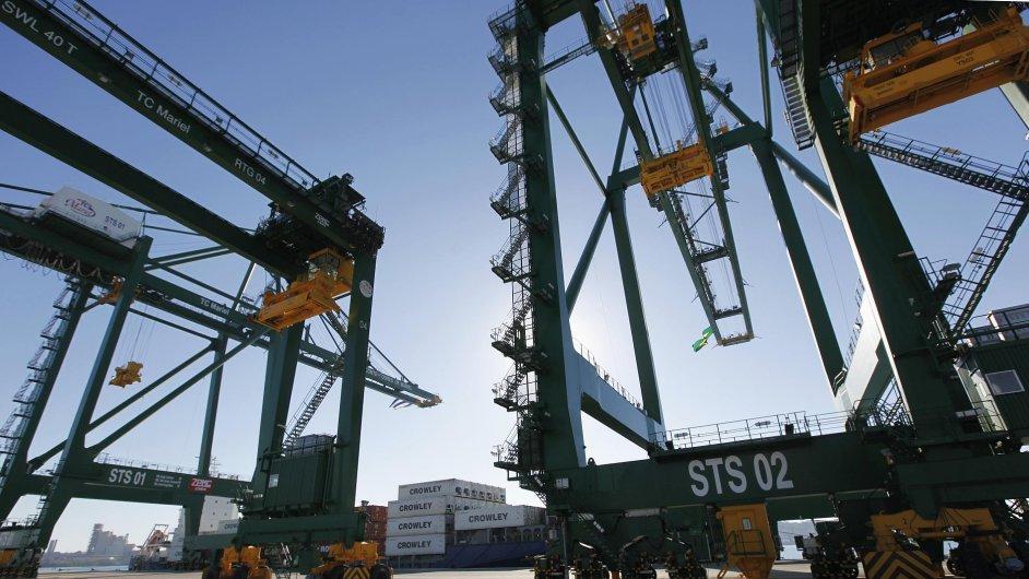Na Kubě byla otevřena část nového přístavu Mariel
