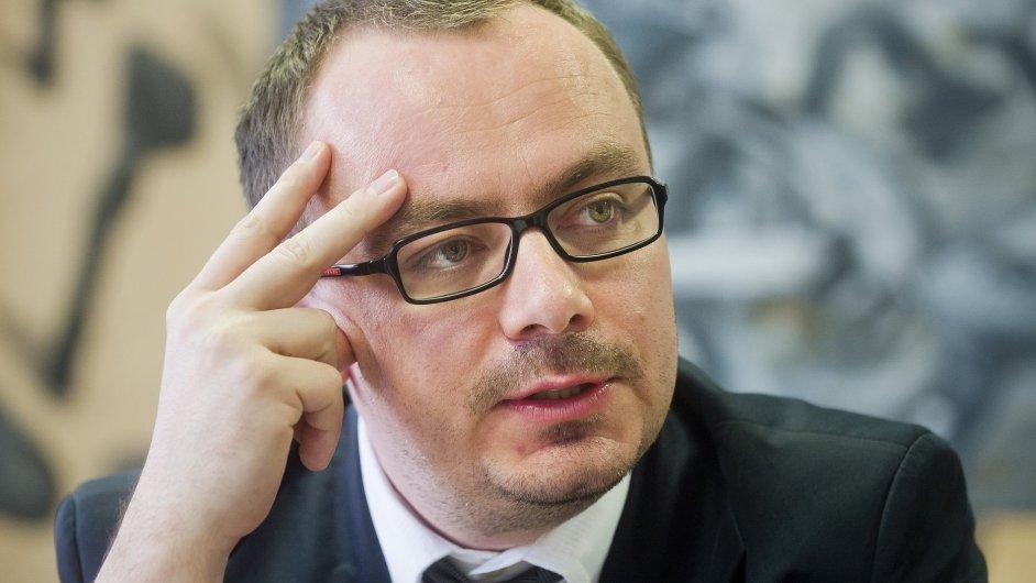Odvolaný ředitel Státního pozemkového úřadu Petr Šťovíček