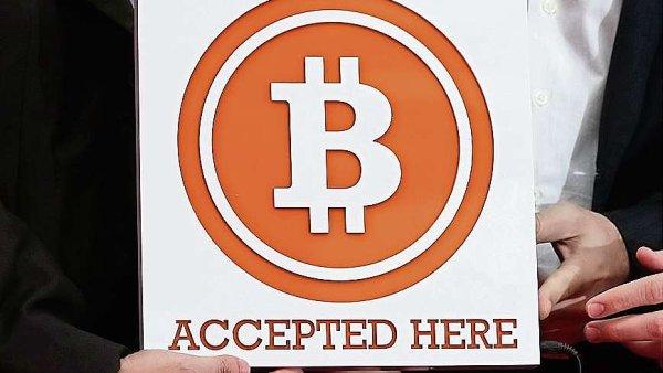 Virtu�ln� m�na bitcoin - ilustra�n� foto