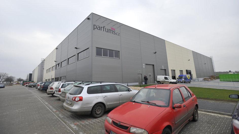 Parfums.cz se chystá rozšířit své distribuční centrum u Brna