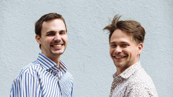 Martin J�za (vlevo) a Jan Roh��, zakladatel� soci�ln�ho projektu Ironing Ladies