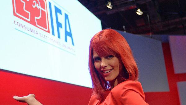 Miss IFA, �iv� maskot veletrhu IFA