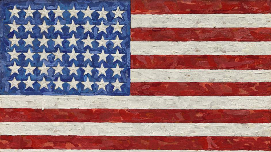 Jasper Johns: Vlajka, 1983