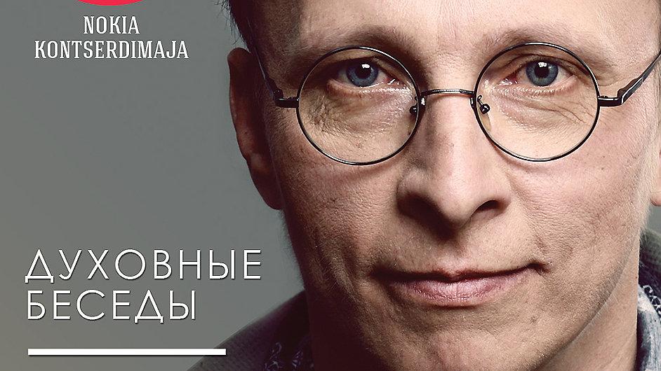 Ivan Ochlobystin nedávno besedoval v koncertní síni v estonském Tallinnu.