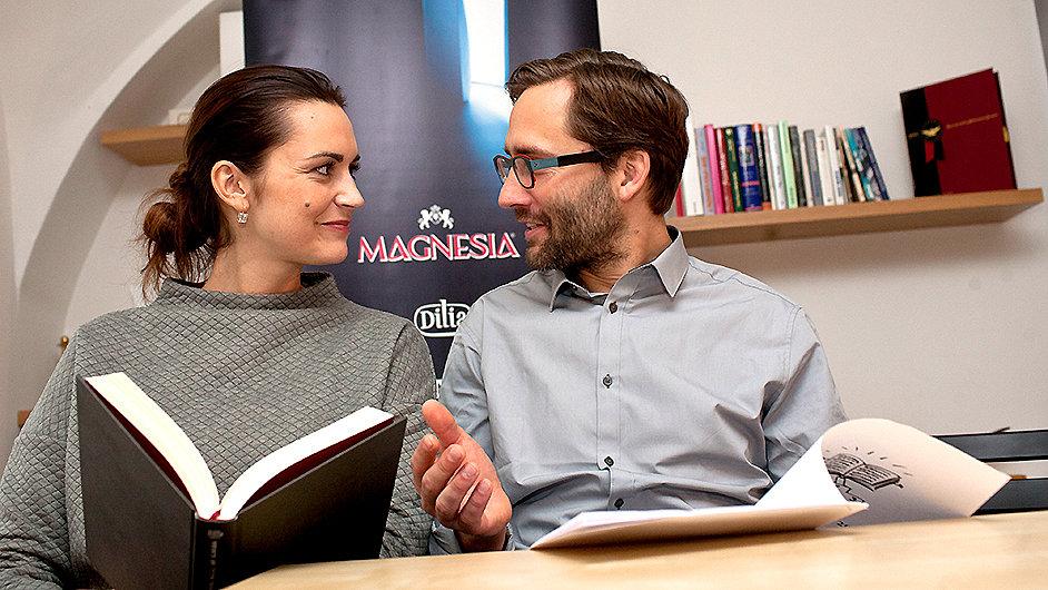 Daniela Písařovicová a Jiří Havelka budou uvádět také letošní předávání cen Magnesia Litera.