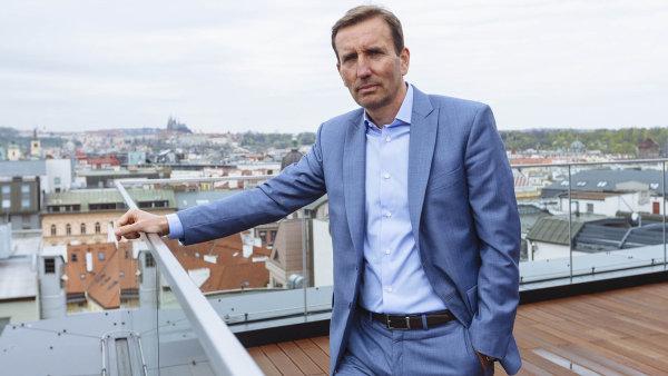 Marek Dospiva, spolumajitel investi�n� skupiny Penta