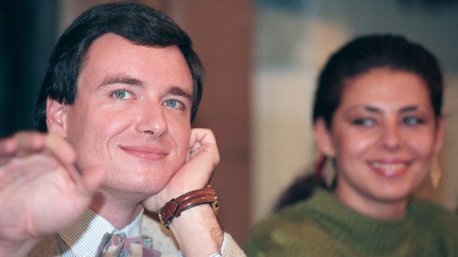 Začínající revolucionář David Rath s Kateřinou Pancovou.
