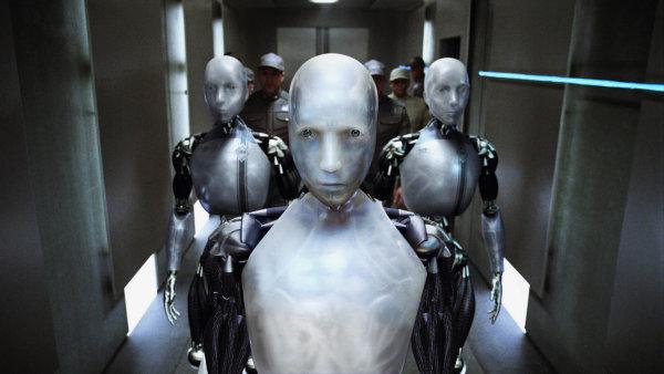 Téma umělé inteligence je dobře známé ze sci-fi literatury a hollywoodských filmů. Jako například ze snímku Já, robot z roku 2004 - Ilustrační foto.