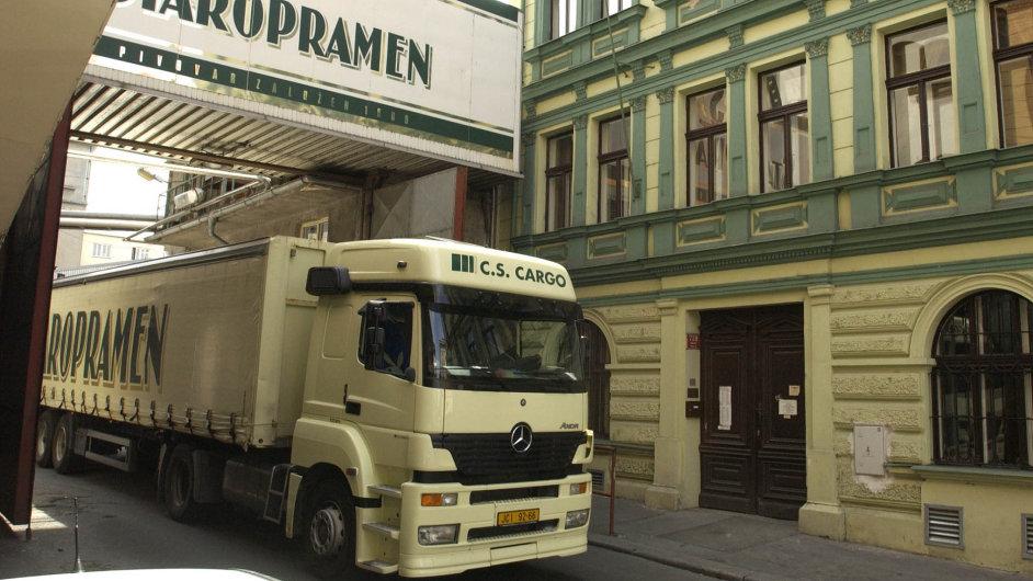 Pivovar Staropramen.