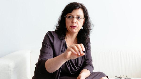 Ministryně práce a sociálních věcí Michaela Marksová-Tominová