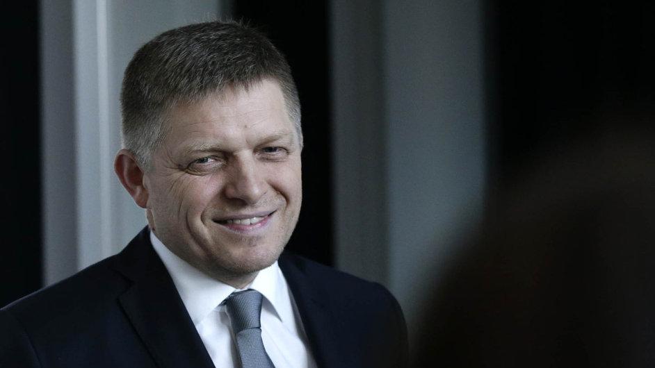 Robert Fico, slovenský premiér a vítěz nedávných voleb.