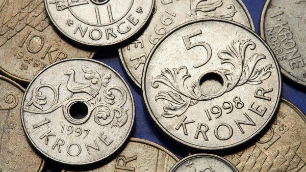 Norská centrální banka nevyloučila ani zavedení záporných úrokových sazeb - Ilustrační foto.