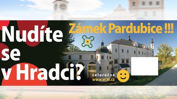 Nudíte se v Hradci? Zámek Pardubice!!!