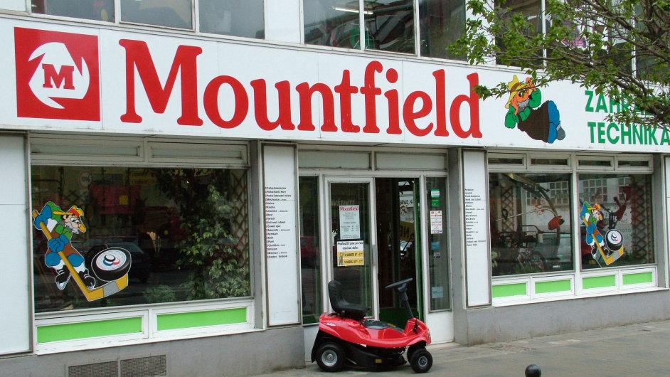 Prodejna Mountfield.