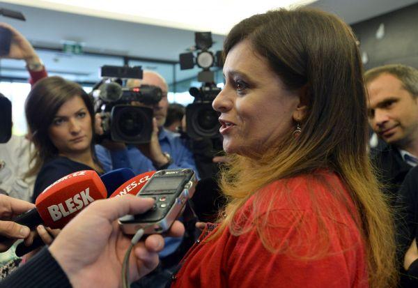 Centrální volební štáb hnutí ANO pro vyhlášenívýsledků krajských voleb.