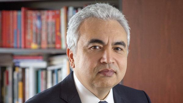 """""""Jaderná energetika je důležitá pro energetickou bezpečnost, boj s klimatickými změnami a místním znečištěním, stejně jako pro stabilitu dodávek elektřiny,"""" tvrdí Fatih Birol."""