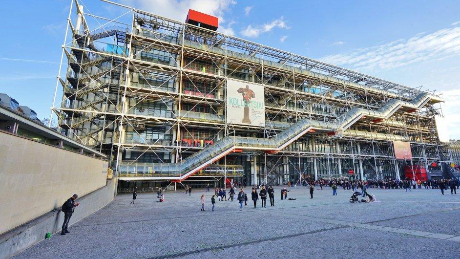 Centre Georges Pompidou v Paříži letos slaví 40. výročí od otevření.