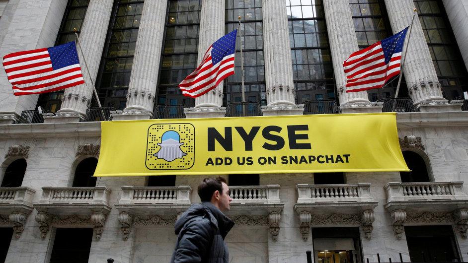Snapchat, Wall Street, NYSE.