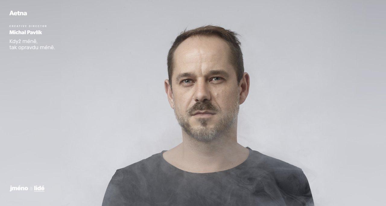 Kreativní ředitel Michal Pavlík: Když méně, tak opravdu méně.