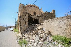 Fotograf z Iráku: Domy milenců ztichly. Po IS tu zbyly neprůstřelné vesty, nevybuchlé miny i tunely