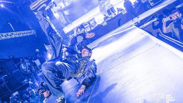 Snímek z letošního ročníku Hip Hop Kempu.