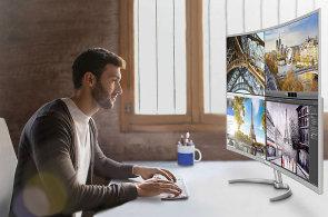 Test: Čtyřicetipalcový prohnutý monitor Philips je taková UltraHD televize na počítačový stůl