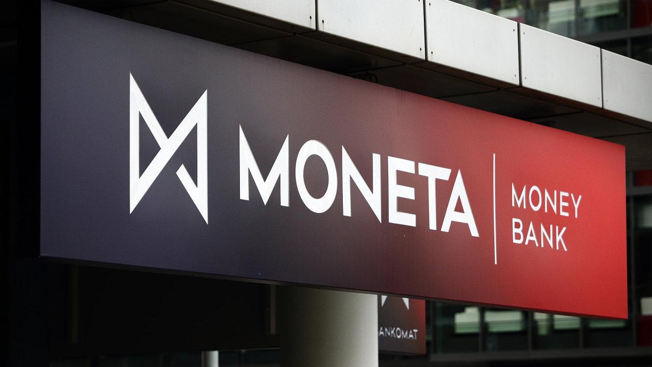 Moneta Money Bank. Sídlo banky na Brumlovce v pražské Michli. Praha