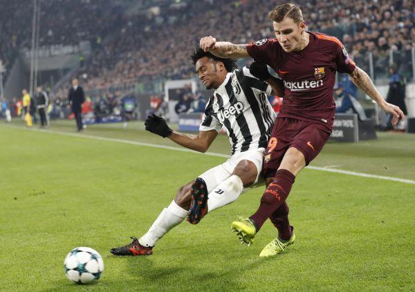 Juventus' Juan Cuadrado
