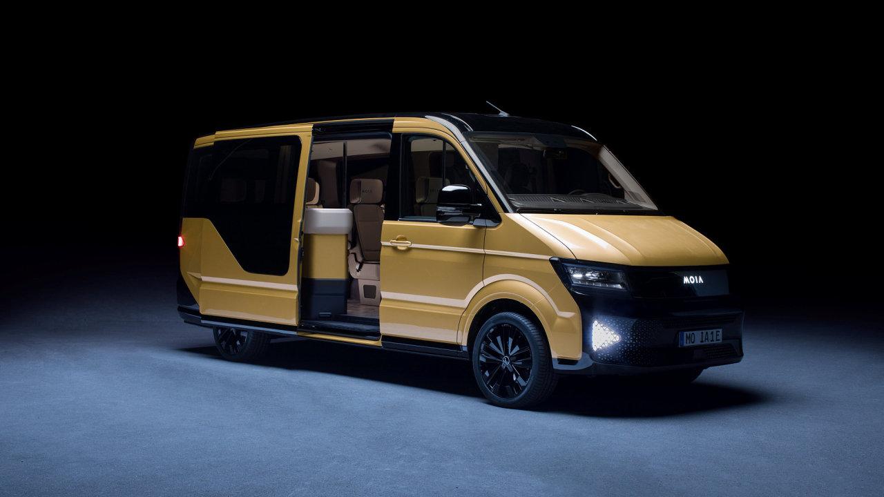 Mikrobus na elektrický pohon od Volkswagen