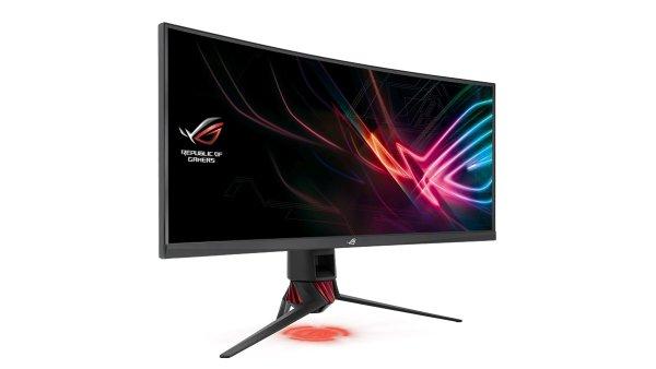 """ASUS XG35VQ je 35"""" obr se zakřivením a pokročilými funkcemi určenými pro hráče"""
