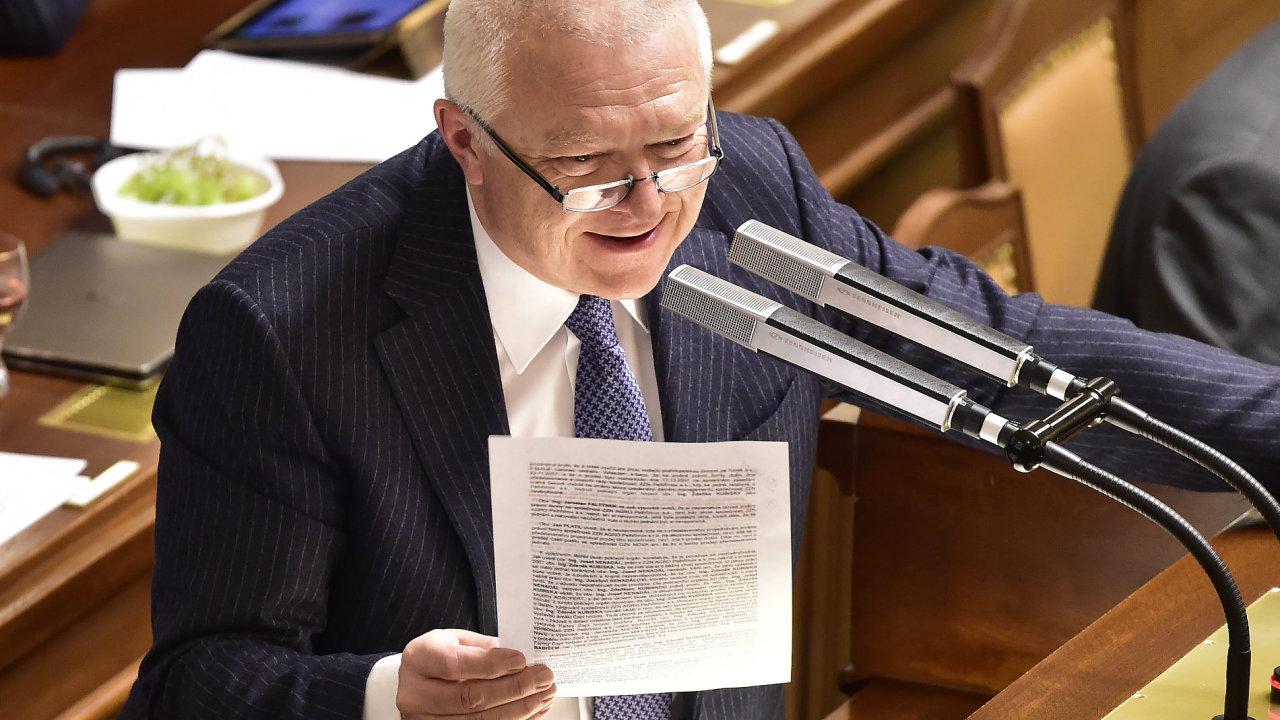 Na jednání se sociálními demokraty zastupuje hnutí ANO místopředseda Jaroslav Faltýnek.