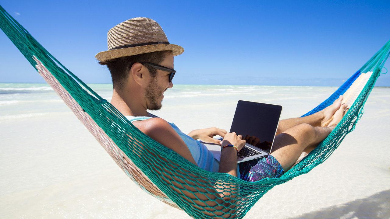 Digitální nomádi mohou pracovat odkudkoli.