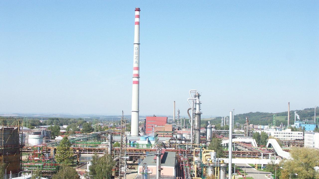 Energetické úspory ve společnosti Deza, a.s.