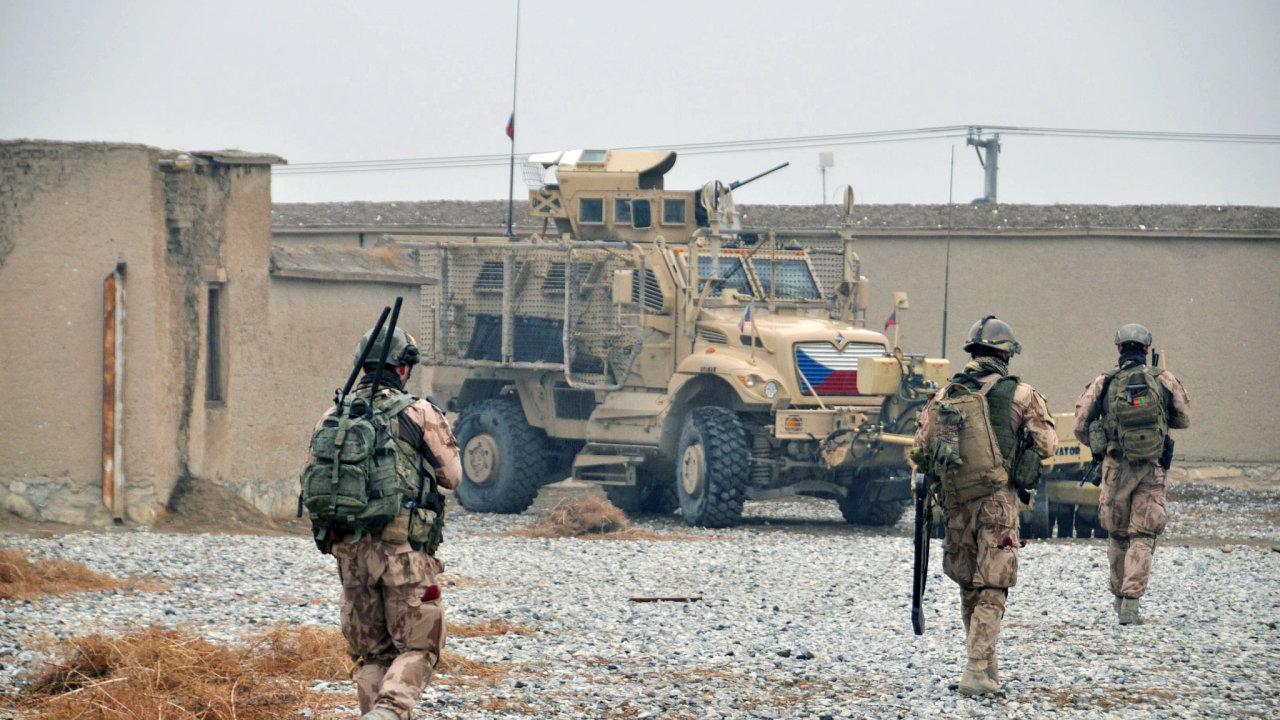 V Afghánistánu padl další český voják, jiní dva jsou zranění - Ilustrační foto.