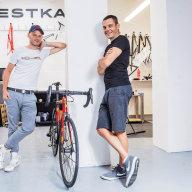 Michael Moureček založil firmu Festka s kamarádem Ondřejem Novotným. Ten je také jediný, kdo toho ví o jejich know how skoro tolik jako Moureček.