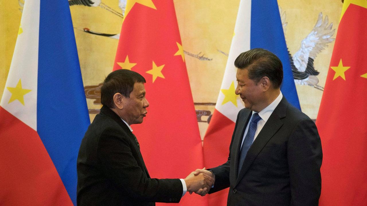 Čína, Filipíny, Duterte, Si Ťin-pching.