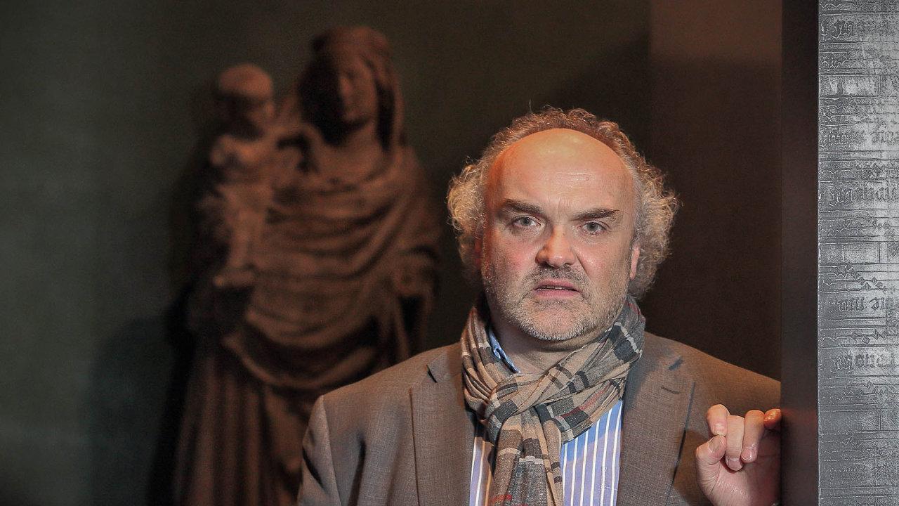 Výstavu vpražské Valdštejnské jízdárně připravil ředitel Národní galerie Jiří Fajt.