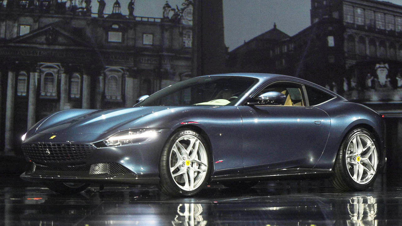 Jednou z loňských novinek, která podpořila růst automobilky Ferrari bylo Ferrari Roma.