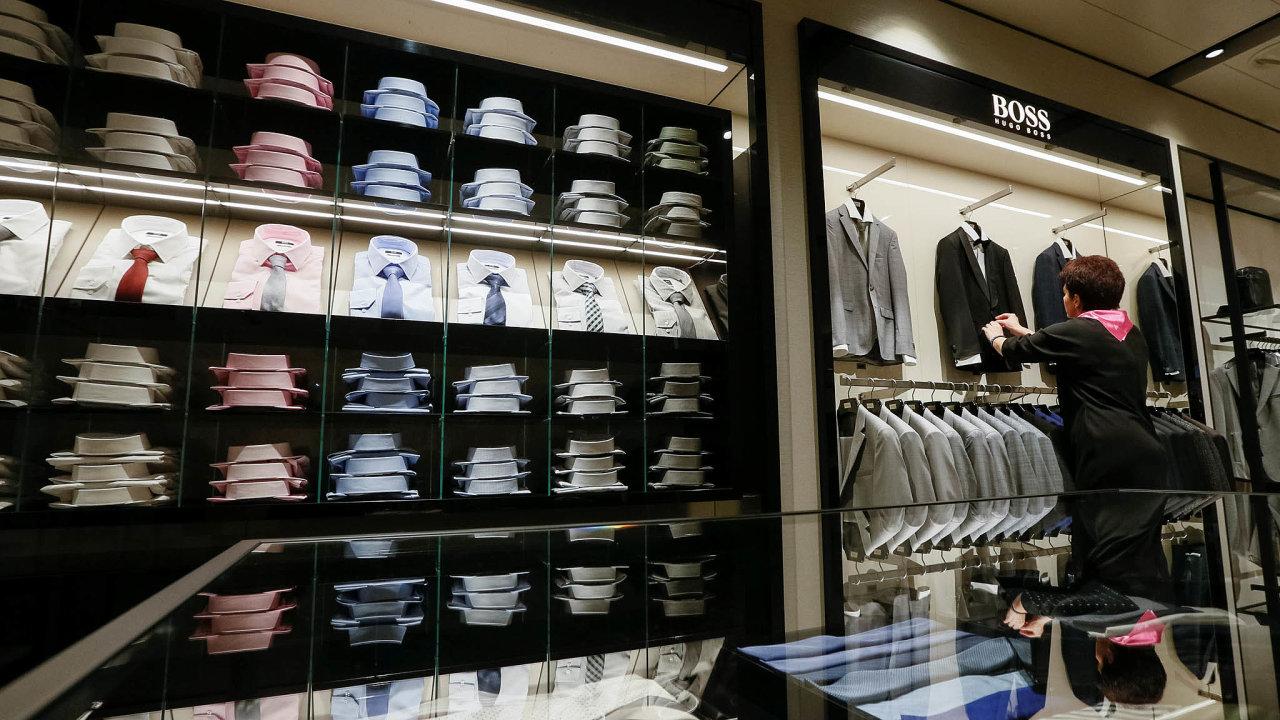 Ve čtvrtek vNěmecku vydají čísla osvém hospodaření například gumárenská aautomotive skupina Continental, mediální společnost ProSiebenSat či módní značka Hugo Boss (na snímku).