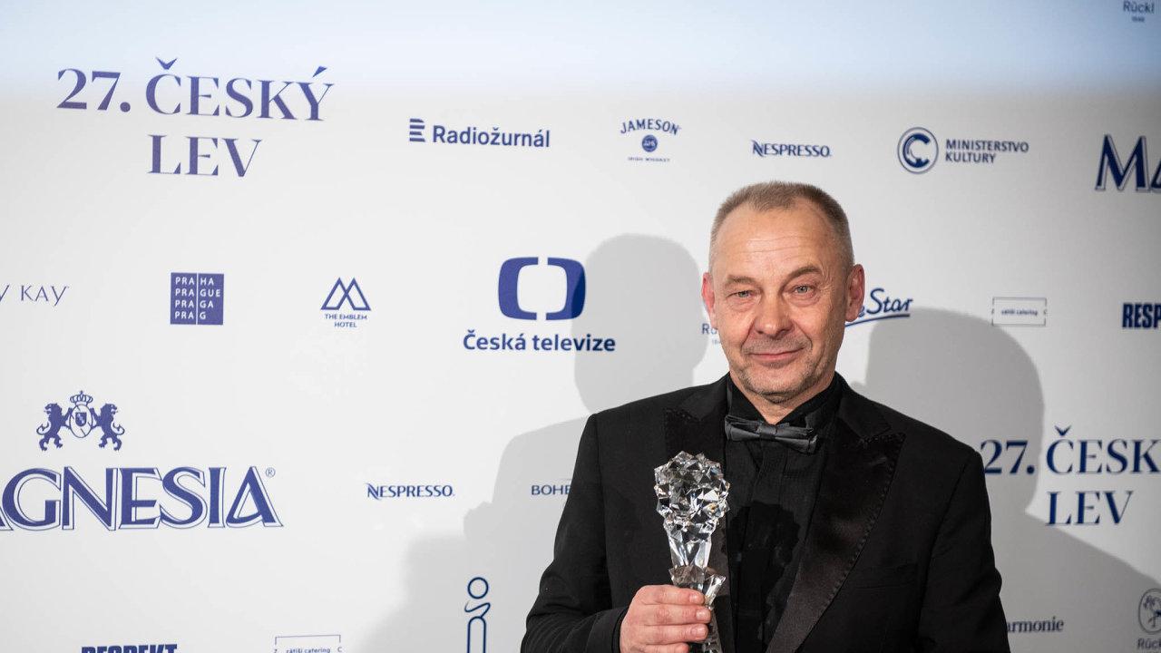 Producent, scenárista a režisér Václav Marhoul na vyhlašování filmových cen Český lev.