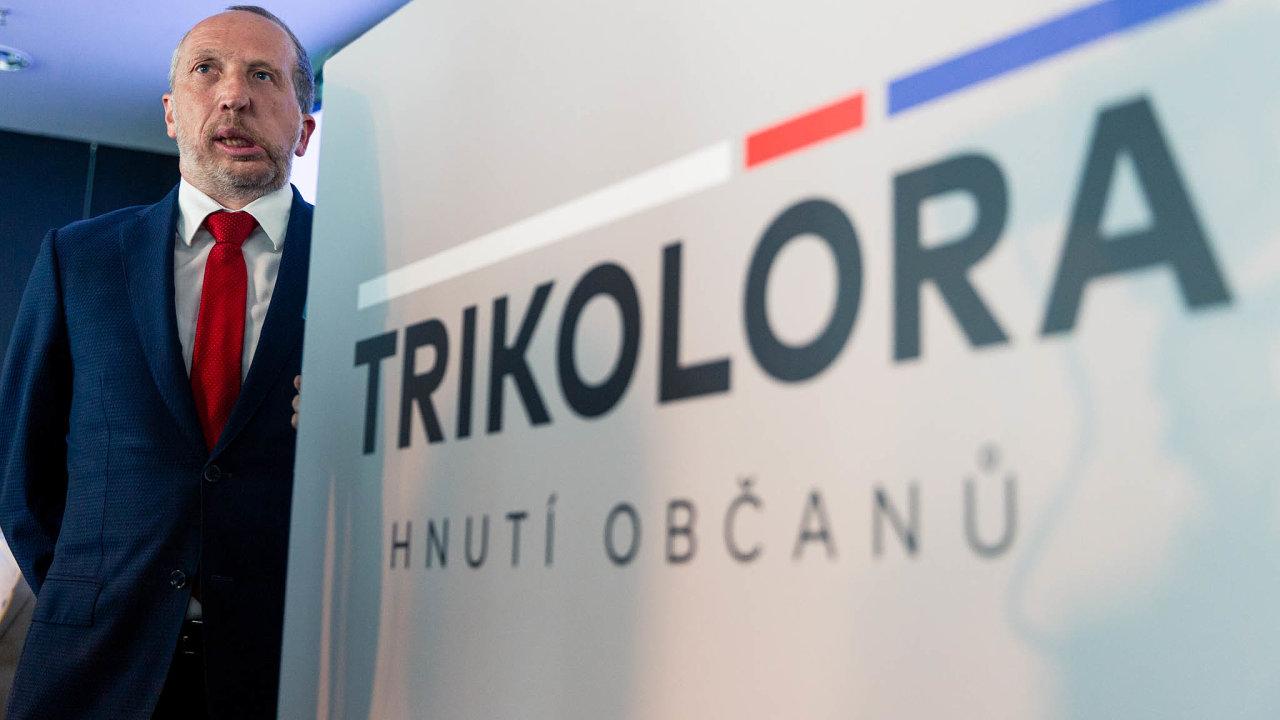 Václav Klaus mladší (Trikolóra) navrhuje ústavní změnu, která spočívá vtom, že lidé mají mít právo používat hotovost.