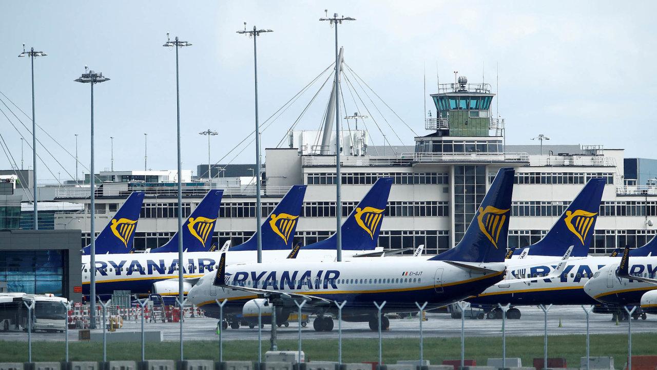 Ryanair má teď naúčtech 4,5 miliardy eur, což je více než nazačátku pandemie.