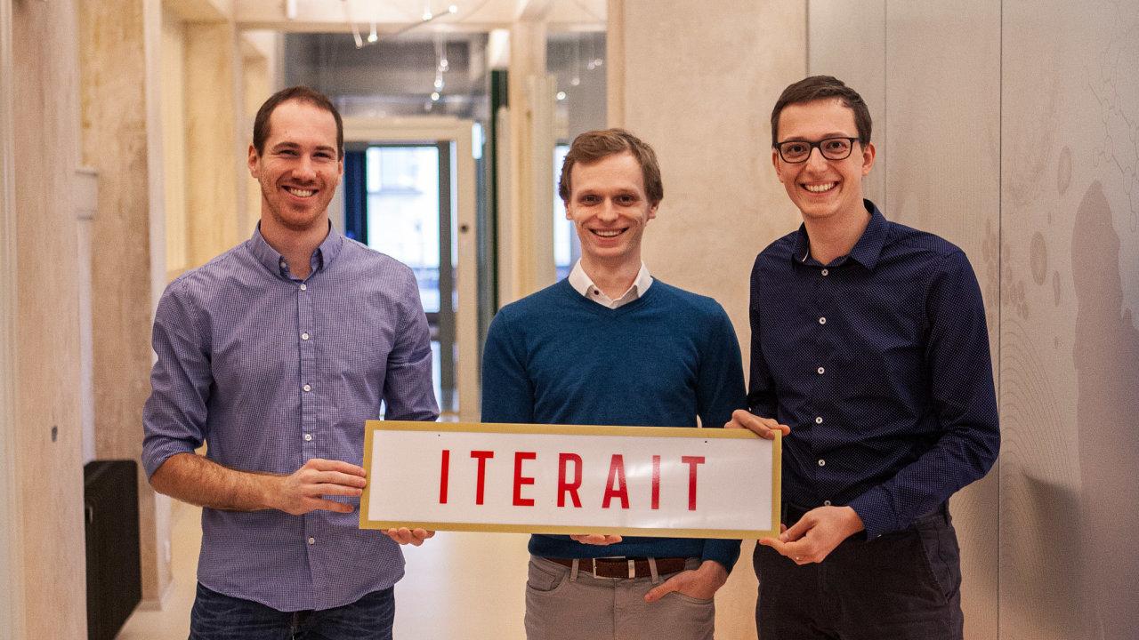 Zakladatelé start-upu Iterait