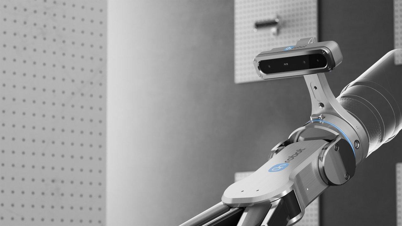 Na OnRobot Expo budou k vidění ukázky robotických nástrojů. Na ilustračním snímku systém OnRobot Eyes, ktzerý je ideální pro třídění různých předmětů či robotizaci CNC strojů.