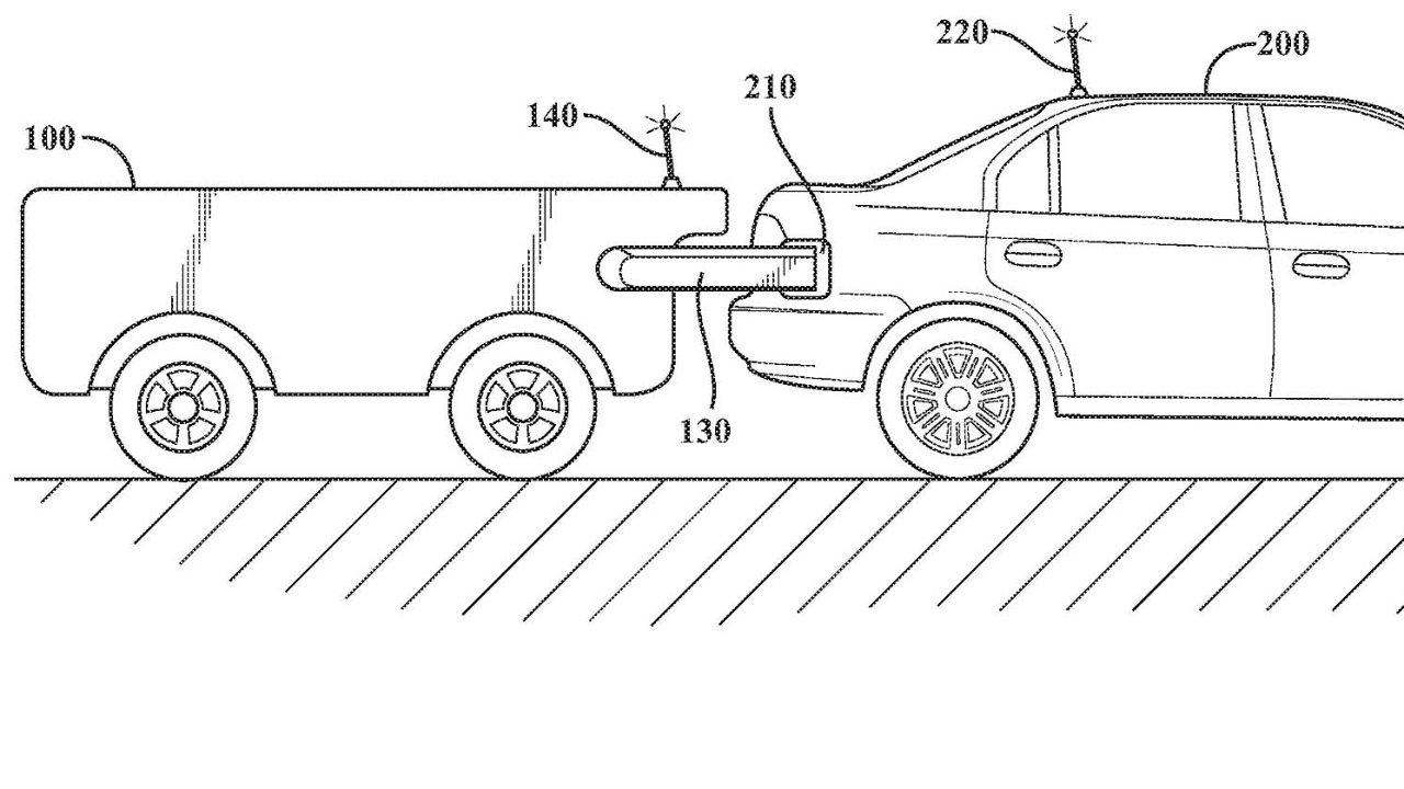 Z dokumentace doprovázející patent vyplývá, že se tanker od Toyoty obejde bez řidiče a bude plně autonomní.