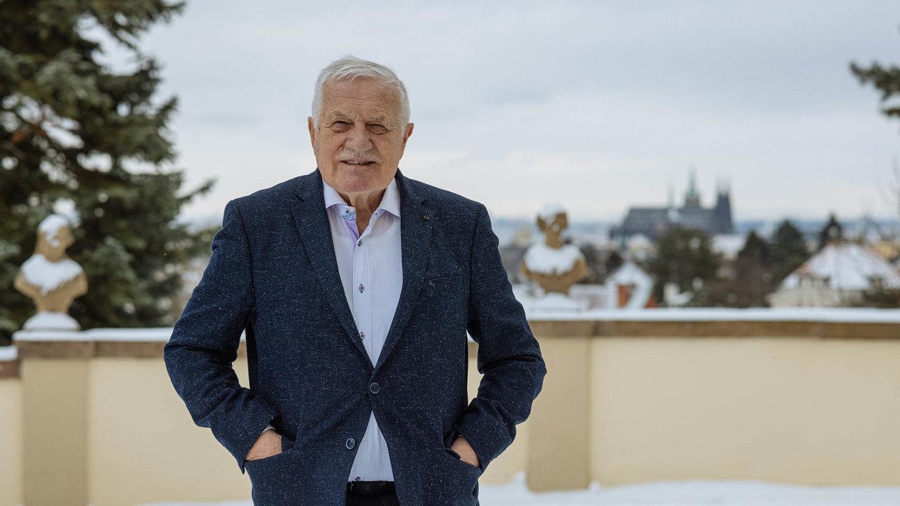 Exprezident Václav Klaus opět porušil vládní opatření v boji proti koronaviru.