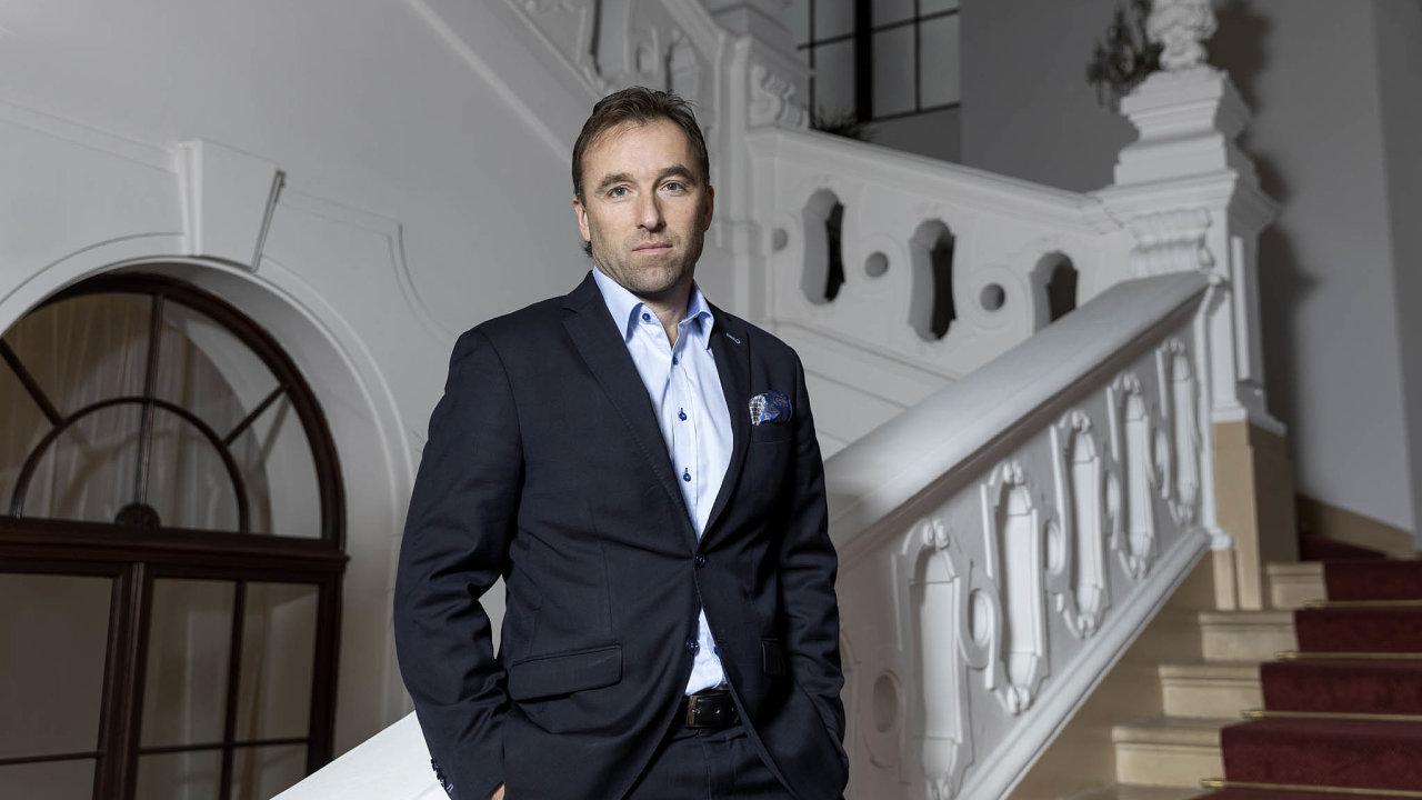 Šéf Národní sportovní agentury Milan Hnilička.