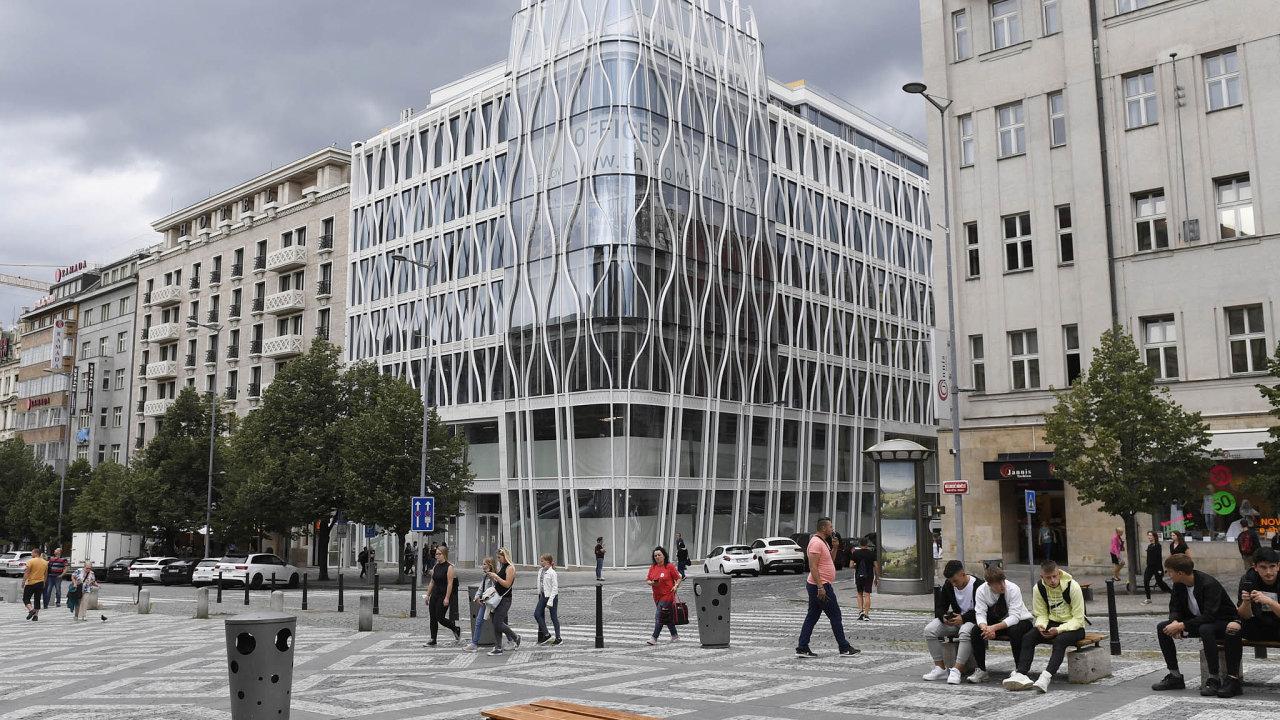 Naseznamu nájemních prostor bude třeba The Flow Building, nová budova narohu Opletalovy ulice aVáclavského náměstí vPraze.